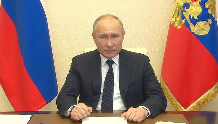 Путин: меры по борьбе с коронавирусом не должны разрушать экономику