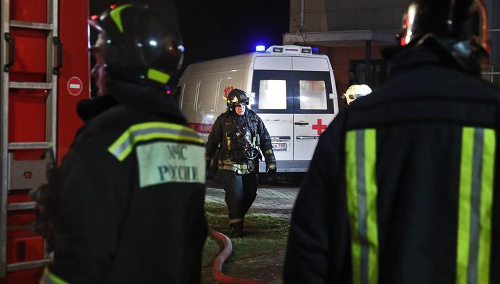 Четыре человека погибли на пожаре в московском доме престарелых