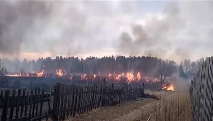 Особый противопожарный режим введен в нескольких районах Красноярского края