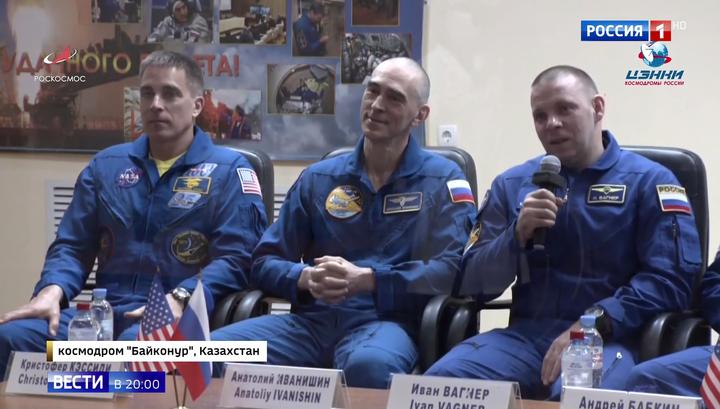 Новый экипаж МКС готовился с усиленными мерами безопасности