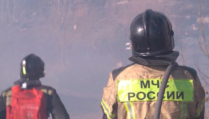 В 57 субъектах России открыт пожароопасный сезон, борьба с огнем продолжается