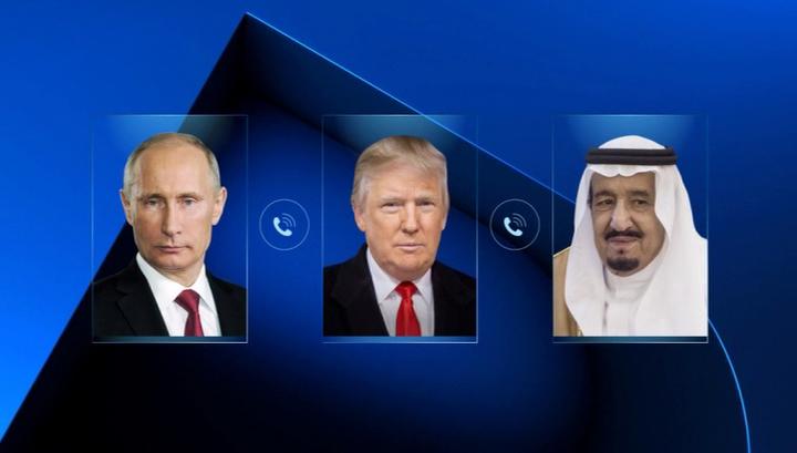 Договоренность ОПЕК+ вступает в силу: Путин, Трамп и Аль Сауд обсудили сделку