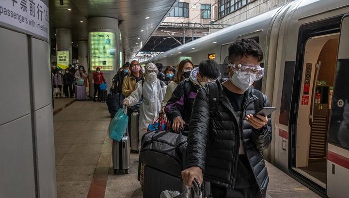 ВВП Китая в I квартале ушел в минус из-за пандемии