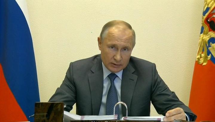 Путин: пик эпидемии еще впереди