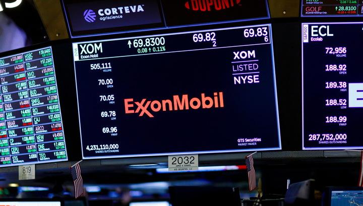 Exxon заморозила дивиденды впервые за 13 лет