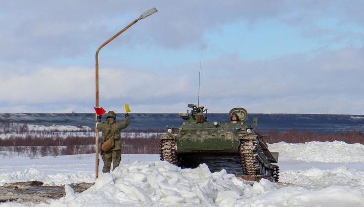 В России создают арктический бронетранспортер