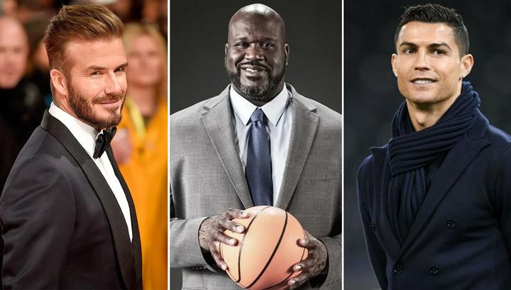 Самые переоцененные спортсмены: Бекхэм, О'Нил, Роналду