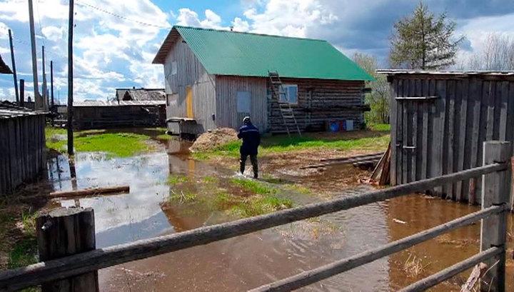 В Коми усложняется паводковая ситуация
