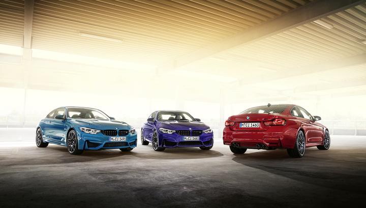 """BMW привезла в Россию """"горячее"""" купе M4 в новой спецверсии"""