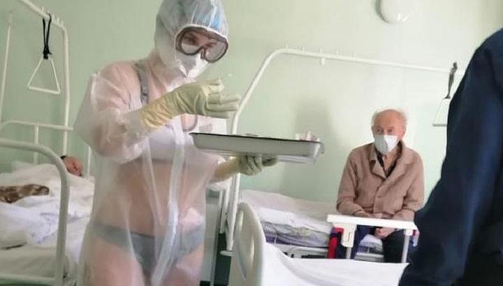 За тульскую медсестру в купальнике вступились губернатор и главврач