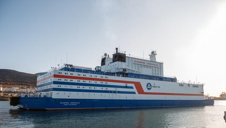 Первая в мире российская плавучая АЭС введена в промэксплуатацию