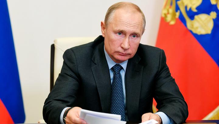 Путин высоко оценил действия московских властей во время эпидемии