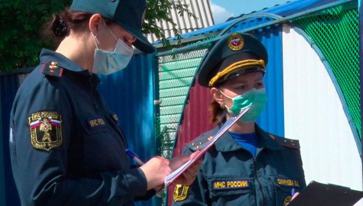 На территории России продолжается борьба с природными пожарами