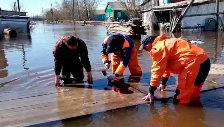 В Ненецком АО - вторая волна половодья, подтоплено более 200 домов