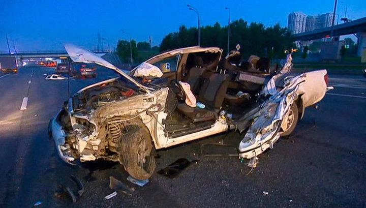 ДТП на пересечении МКАД и Каширского шоссе: есть пострадавшие