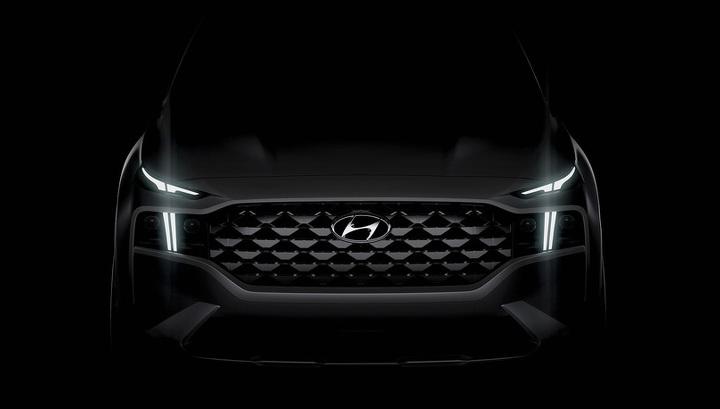 Hyundai впервые показала новый Santa Fe