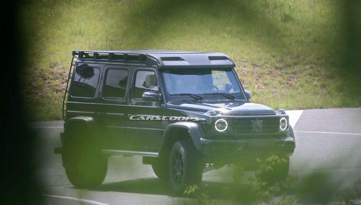"""Mercedes тестирует новый """"СуперГелик"""" на портальных осях"""