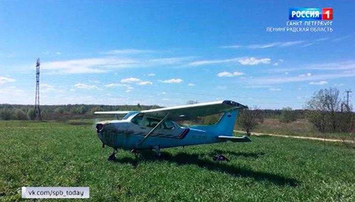 Мастерство пилота позволило избежать авиакатастрофы над Ленобластью
