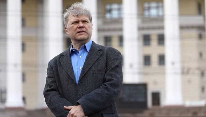 Митрохин задержан за пикет у Петровки, 38