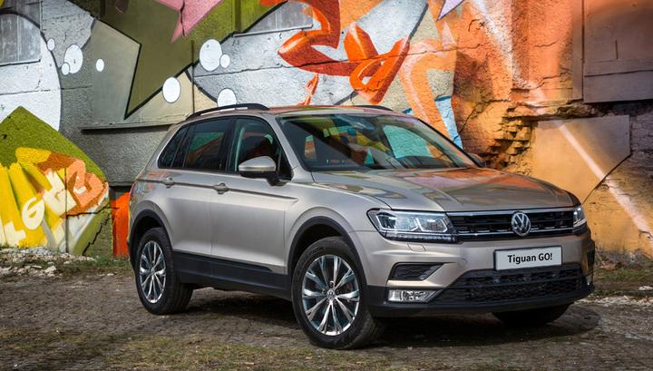 Volkswagen сделал для России новую комплектацию для Tiguan