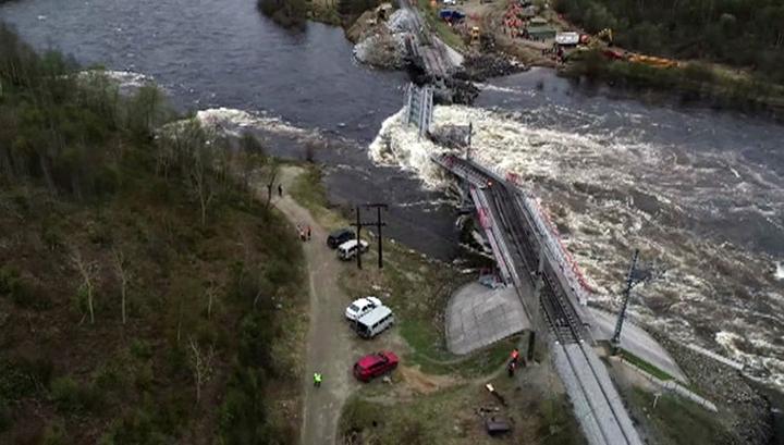 По факту обрушения моста в Заполярье возбуждено уголовное дело