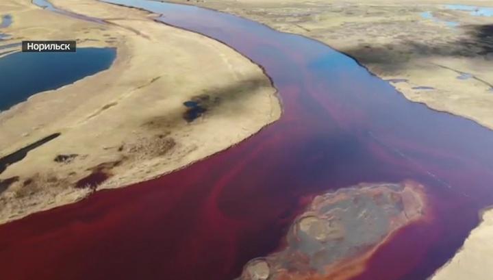 В МЧС придумали, как ликвидировать утечку нефтепродуктов в Норильске