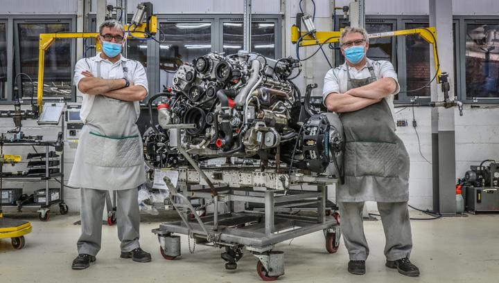 Bentley выпустила последний мотор объемом 6,75 л