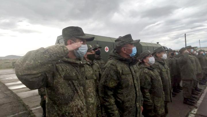 Военные перебрасывают в Забайкалье госпиталь на 100 мест