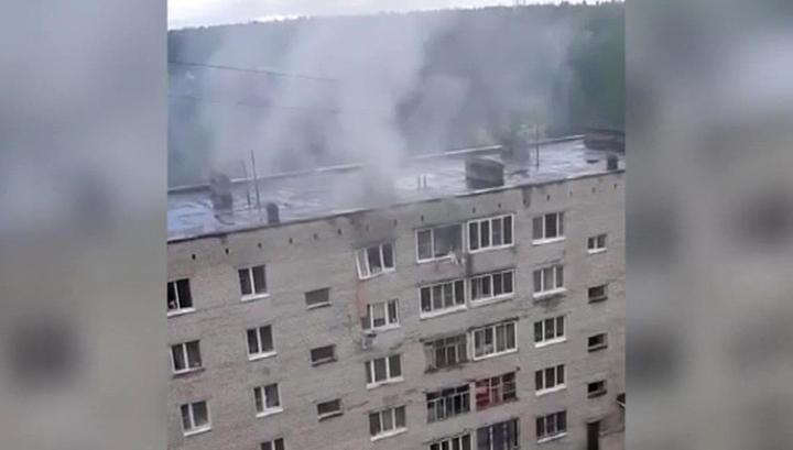 В подмосковном жилом доме произошел взрыв: один человек пострадал