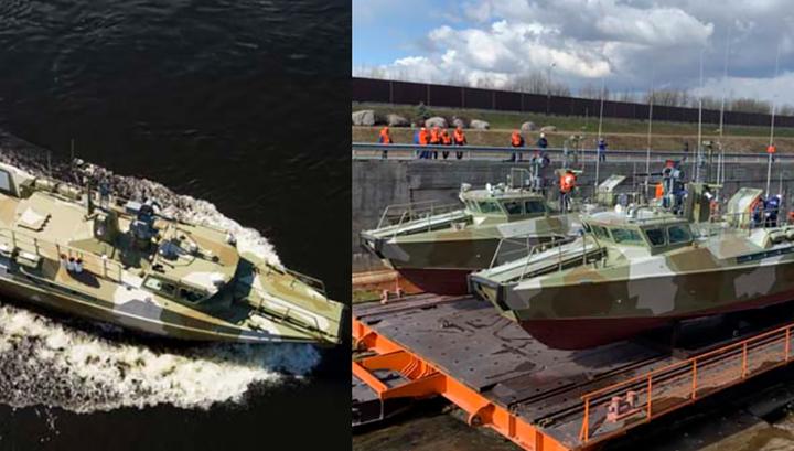 На Неве начались испытания двух новейших патрульных катеров