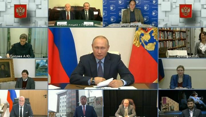 Путин: российская культура доказала свою жизнеспособность