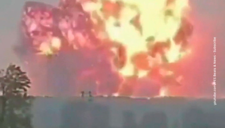 Взрыв на фабрике фейерверков в Турции: четыре человека погибли, около 100 - ранены