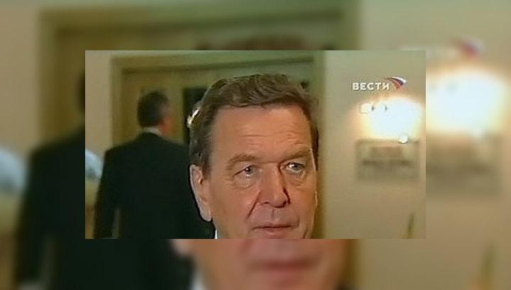 """Герхард Шредер напомнил, что в свое время он предостерегал против признания независимости Косова, так как это может стать прецедентом для других """"замороженных конфликтов"""""""