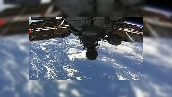 """Элементы и конструкции космического корабля """"Союз ТМА-13"""" раскрылись нормально"""