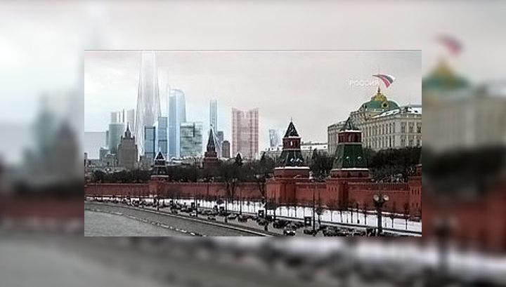 Кремль в тени небоскреба