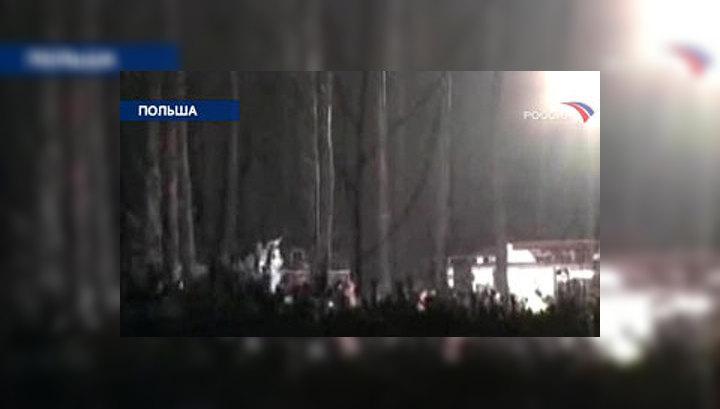 """""""Черный ящик"""" разбившегося в Польше самолета пока не нашли"""