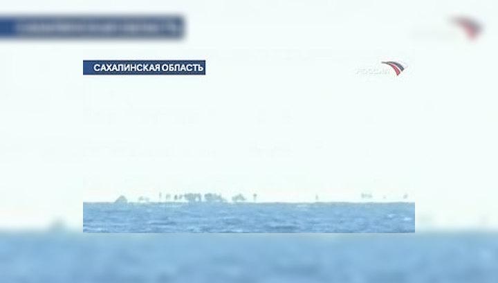 Сахалинские рыбаки сняты с льдины