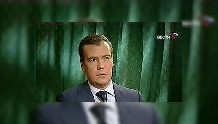 Медведев: наши СМИ из слабых, чахлых превратились в мощную силу