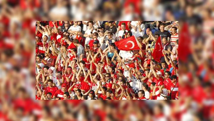 После матча Германия-Турция полиция задержала 21 болельщика