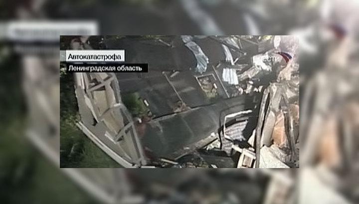 Крупная автокатастрофа: в Ленобласти погибли 8 человек