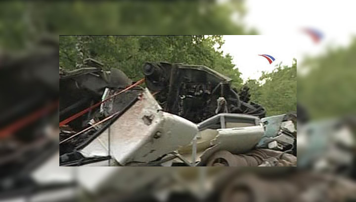 В Псковской области объявлен траур по погибшим в аварии автобуса