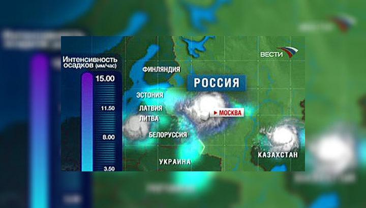 Во вторник в Москве ожидается шторм