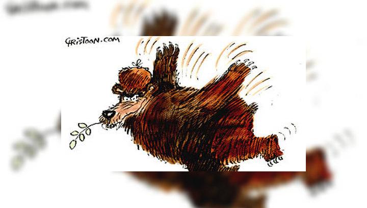 Западные СМИ публикуют карикатуры по поводу трагедии в Южной Осетии