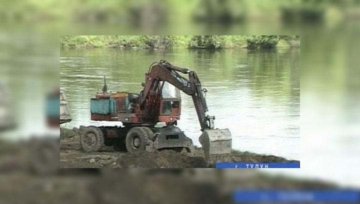 Дамба спасет Тулун от наводнений на 100 лет