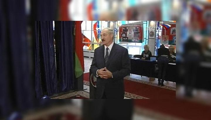Наблюдатели от СНГ довольны выборами в Белоруссии