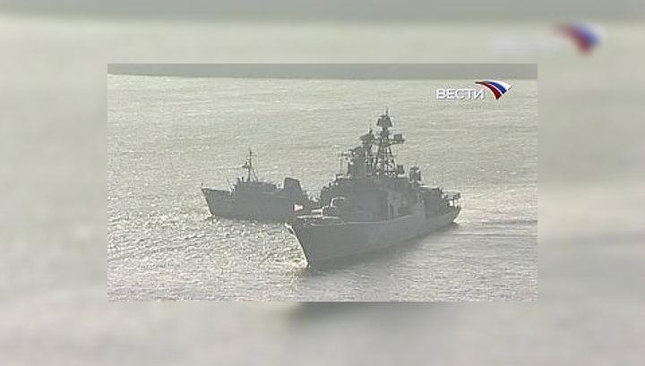 Третий отряд российских кораблей отправился в Аденский залив