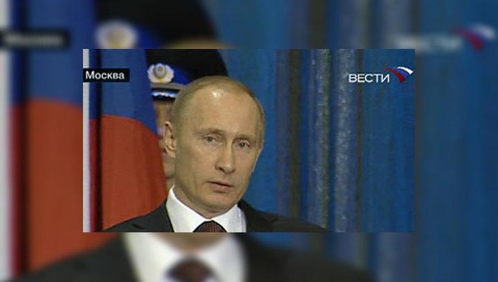 Путин поздравил чекистов с праздником