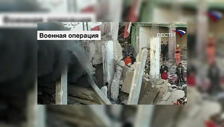 """Ольмерт: бомбардировки Газы – только первая фаза """"Расплавленного свинца"""""""