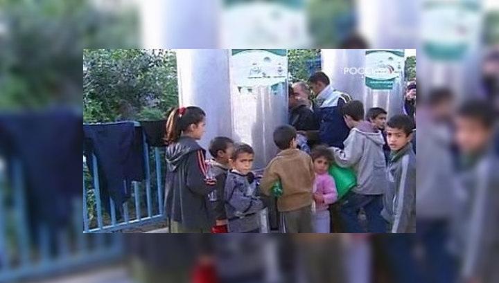 """В палестинский анклав через КПП """"Керем Шалом"""" будут ежедневно пропускаться 140 крупнотоннажных грузовиков."""