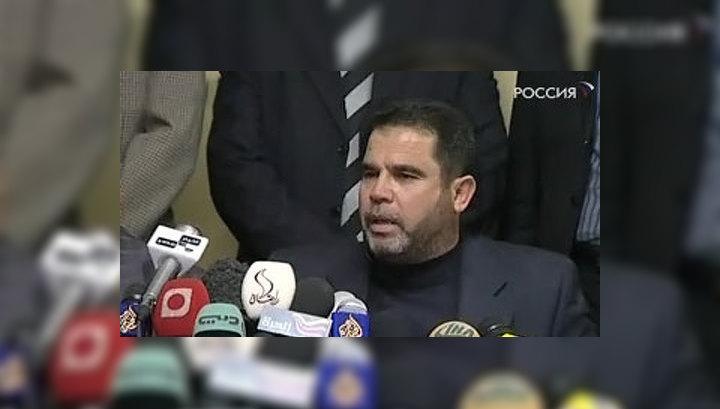Палестинское движение ХАМАС заявило египетской стороне о том, что оно согласно на перемирие с Израилем сроком на один год при условии вывода израильских войск из сектора Газа в течение 5-7 дней и открытия всех границ анклава